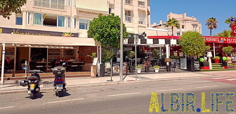 Restaurants in Albir