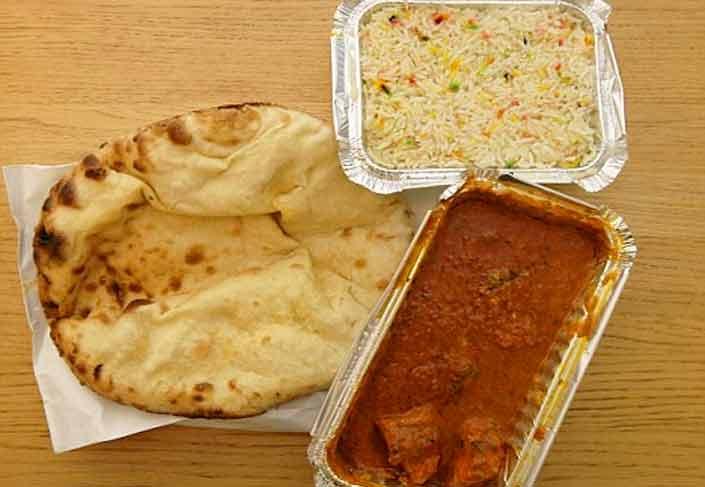 Indian takeaway Albir