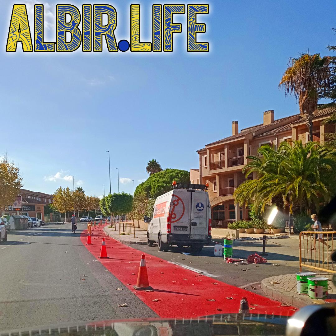 cycle lanes in albir