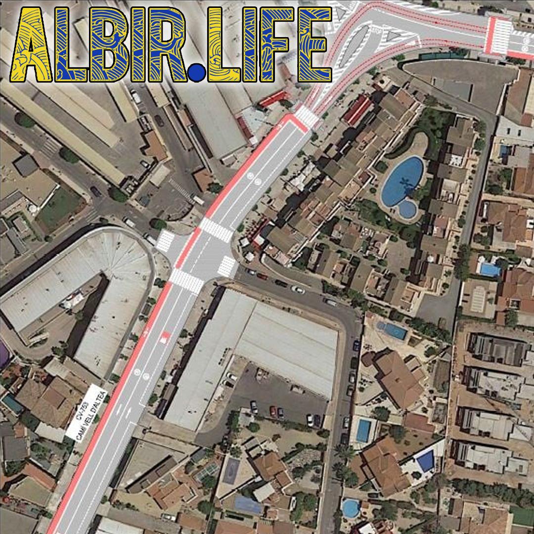 cycle lane albir