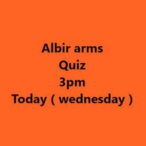 Pub Quiz Albir Arms