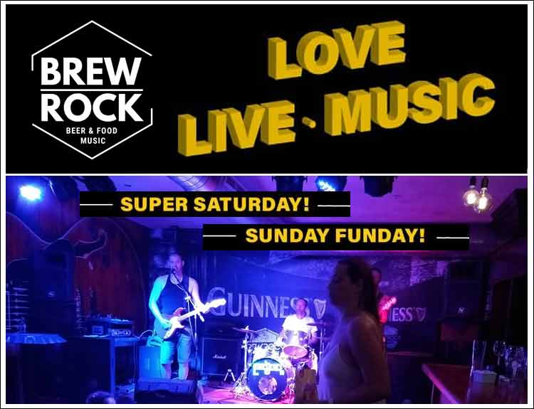 Live Music at Brew Rock