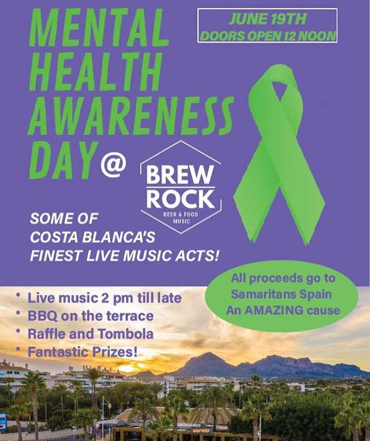 Charity event at Brew Rock