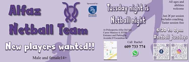 Alfaz Netball Team