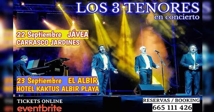 3 tenors concert