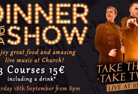 dinner show take that